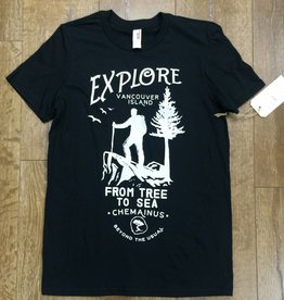 Beyond The Usual BTU Men's Explore Tee - Black