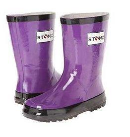 Stonz Boots Stonz Rain Boots - Purple/Black