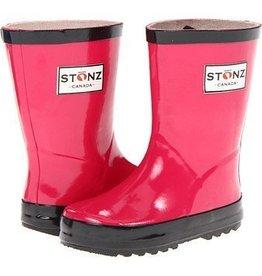 Stonz Boots Stonz Rain Boots - Pink/Black