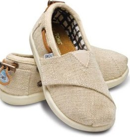 Toms Toddler Tiny Toms Natural Burlap Bimini