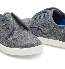 Toms Toddler Grey Wool Paseo Sneak