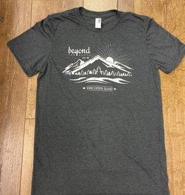 Beyond The Usual BTU Men's Mountain tee - Charcoal