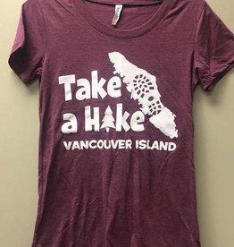 TAHVI TAHVI Women's Triblend T-shirt - Maroon
