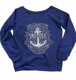Westcoastees Women's Island Girl Crew Neck