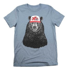 Westcoastees Men's Lucky Lager Bear Tee