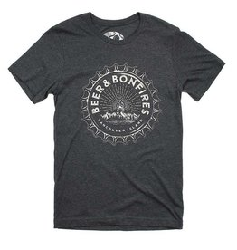 Westcoastees Men's Beer & Bonfires Tee