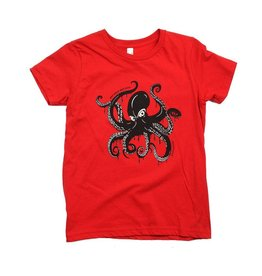 Westcoastees Kid's Octopus Tee