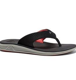 Reef Footwear Men's Rover Grey/Black/Red