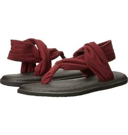 Sanuk Ladie's Yoga Sling 2 Sandals - Burgundy