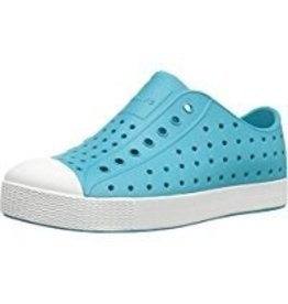 Native Shoes Jefferson Kids - Iris Blue/Shell White
