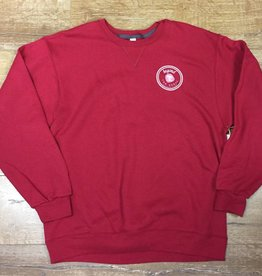 Beyond The Usual BTU Icon Crew Neck Sweater- Maroon