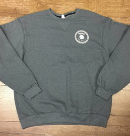 Beyond The Usual BTU Icon Crew Neck Sweater- Grey