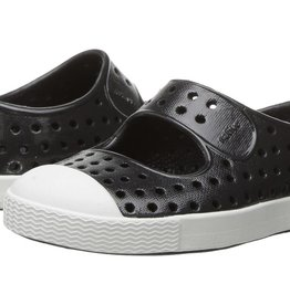 Native Shoes Juniper Kids Black Gloss