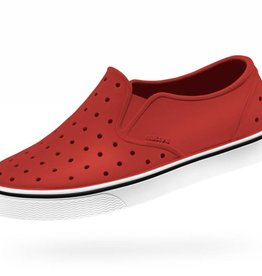 Native Shoes Miles Junior Torch Red/Shell White