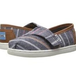 Toms Toms Toddler Navy Multi Stripe/Pu