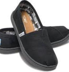 Toms Toms Youth Black