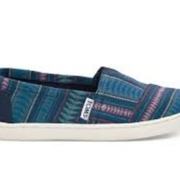 Toms Toms Youth Cobalt Tribal Woven