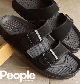 People Footwear People Lennon Sandal - Really Black