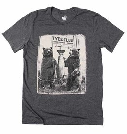 Westcoastees Men's Tyee Bears Tee