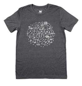 Westcoastees Men's Camp Life Tee