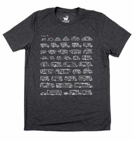Westcoastees Men's RV-Evolution Tee