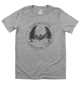 Westcoastees Men's Camping Daze Tee