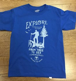 Beyond The Usual BTU Toddler Tees - Explore - Royal
