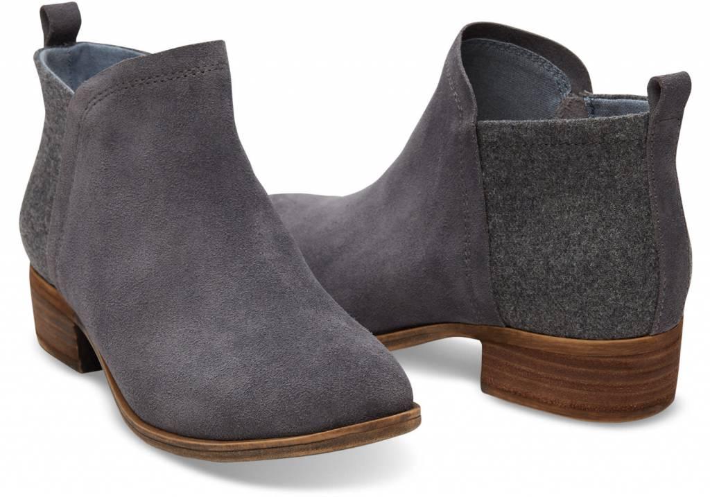 Toms Women's Deia Castlerock grey Suede/Wool