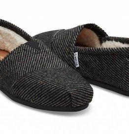 Toms Women's Black Speckled Wool