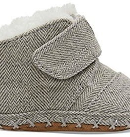 Toms Infant Cuna Grey Herringbone