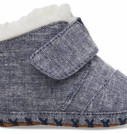 Toms Infant Cuna Navy Chambray
