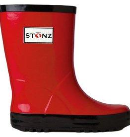 Stonz Boots Stonz Rain Boots - Red/Black