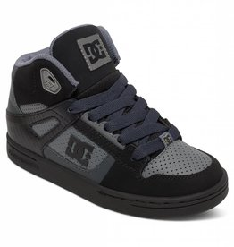 DC Shoe Co. DC Kids Rebound - Grey/Black/Grey (XSKS)