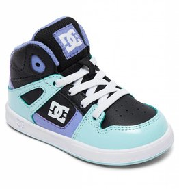 DC Shoe Co. DC Toddler Rebound Black/Multi (KMI)