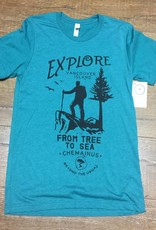 Beyond The Usual BTU Men's Explore Tee - Teal