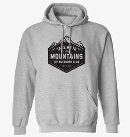 Wild Outdoors Club Take me to the Mountains Pullover Hoodie
