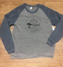 Beyond The Usual BTU Compass Crew Neck Blue/grey
