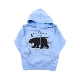Westcoastees Kid's West coast calling Hoodie