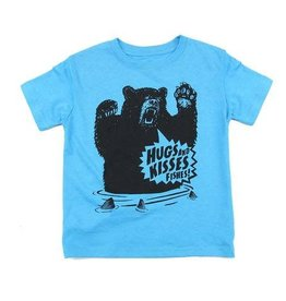 Westcoastees Kid's Hugs and Kisses Tee