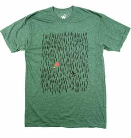 Westcoastees Men's Forest Camping Tee