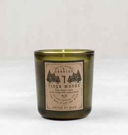 United By Blue OUT-OF-DOORS 8.5oz CANDLE TIOGA WOODS