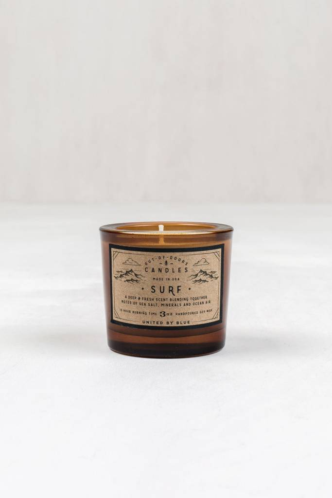 United By Blue OUT-OF-DOORS 3oz CANDLE SURF