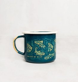 United By Blue UPSTREAM STEEL MUG GREY 12oz
