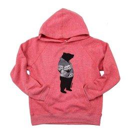 Westcoastees Kid's Cowichan Bear Hoodie -Pink