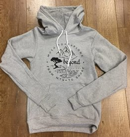 Beyond The Usual BTU Unisex Hoodie Compass - Athl Grey