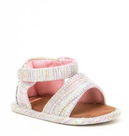 Toms Shiloh Pink Twill Glimmer