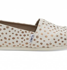 Toms Womens Classic Rose Gold Dot