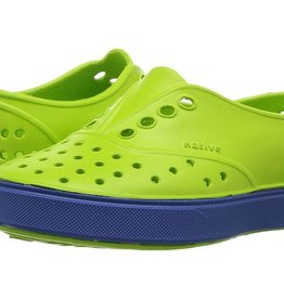 Native Shoes Miller Junior Palm Green/Victoria Blue