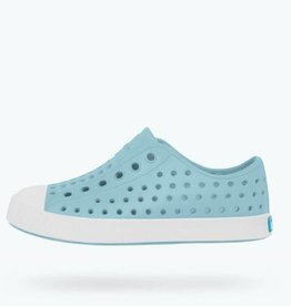 Native Shoes Jefferson Kids - Sky Blue/Shell White