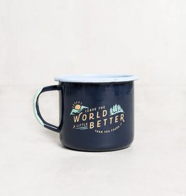 United By Blue FOUND MUG NAVY 12oz